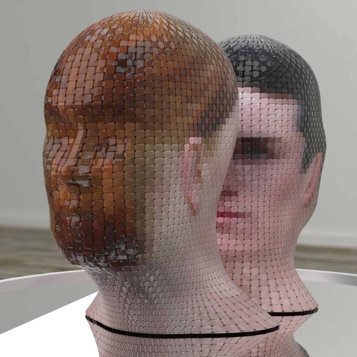 《肖像360》意大利艺术家 gianluca traina 的扭曲